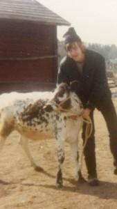 1973. Den första kalven